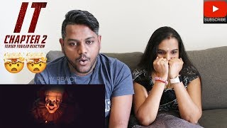 IT CHAPTER TWO Teaser Trailer Reaction | Malaysian Indian Couple | James McAvoy | Pennywise
