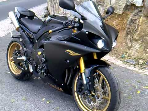 Yamaha R Black And Gold For Sale