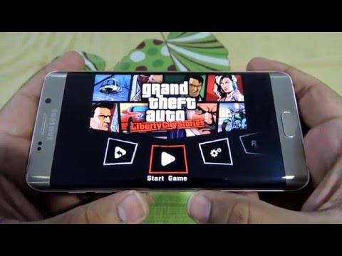 SAMSUNG GALAXY S6 EDGE GRAND THEFT AUTO LIBERTY CITY STORIES GAMING