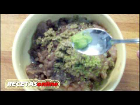 Tartar de atún para untar - Recetas de cocina RECETASonline