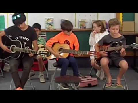 Awesome Guitar Kids Concert |  Star Wars Theme | Dec 2016