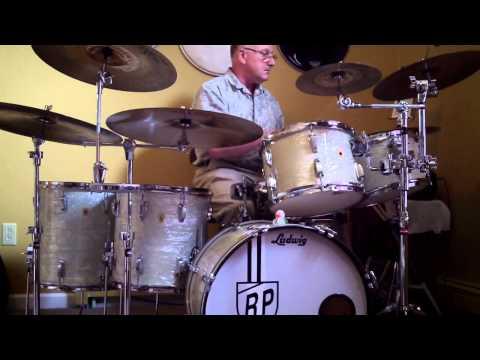 60's WMP Ludwig  Drum Kit Demo