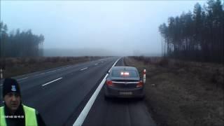 drogówka nieudolnie zatrzymuje pojazd ciężarowy (rozwinięcie)