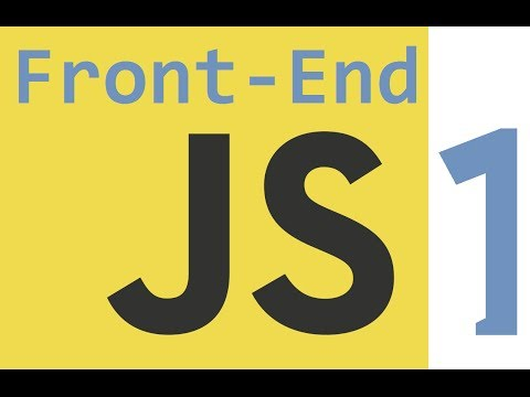 Learn Front End Web Development FAST :: Part 5 :: JavaScript Introduction Myths and More