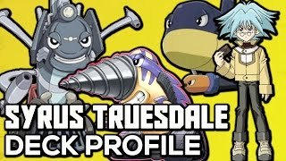YU-GI-OH! GX Syrus Truesdale Character Deck Profile
