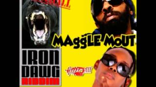 "Spragga Benz & Benzly Hype! - MAggle Mouth ""RADIO"" (IRON DAWG)"