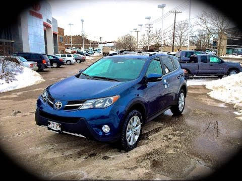 2014 Toyota RAV4 AWD Limited Start Up. Review. Exhaust. & Test Drive @ MOTORCARS TOYOTA