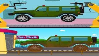 Army Jeep | Car Garage | Car Wash | Army Vehicle