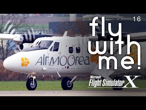 Microsoft Flight Simulator X - Air Moorea to Bora Bora