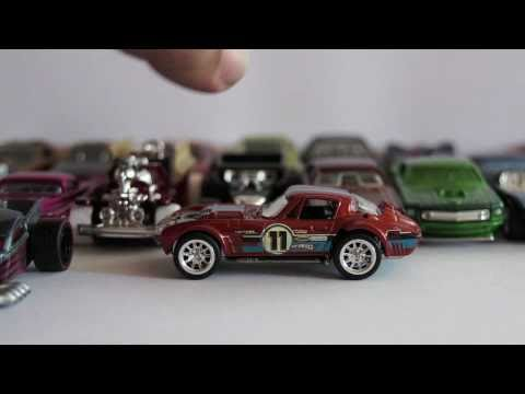 Hot Wheels Loose Super Treasure Hunts collection