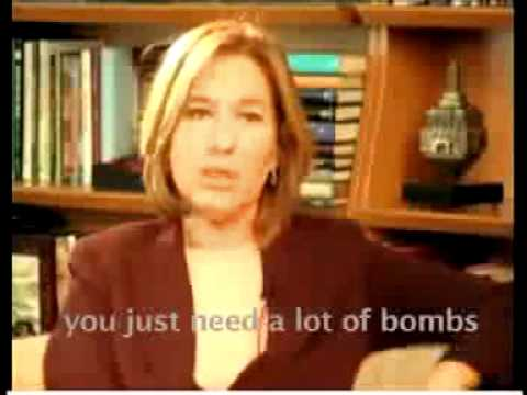 Tzipi Livni Talks About Palestinians