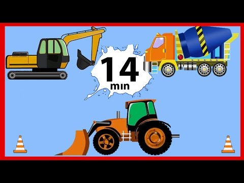 The Tow Truck - Kids Cartoon about Service Vehicles - Cartoons for children Compilation