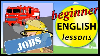 Jobs in English, Different Jobs Beginner vocabulary