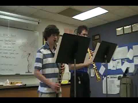 Bass Clarinet & Soprano Saxophone Duet