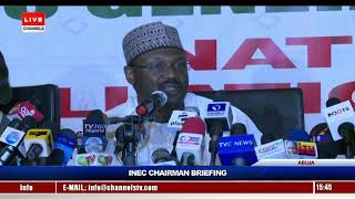 No Third Party Is Involved In The Configuration Of Smartcard Readers - INEC Chairman
