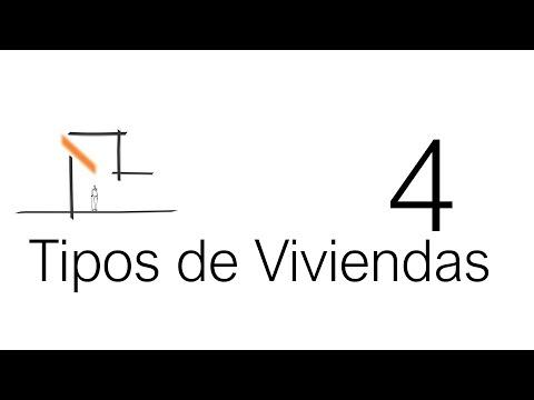 Mira estos planos de casas ¿Qué tipo de vivienda te gusta más?.