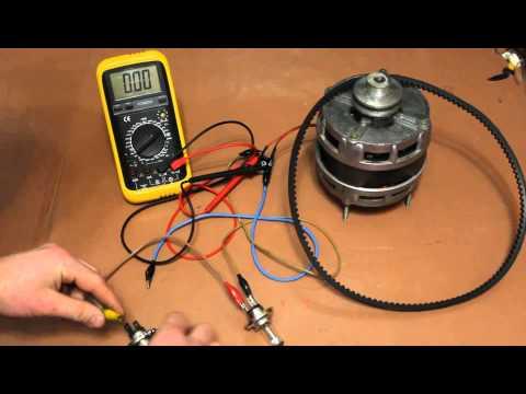 Генератор с асинхронного двигателя своими руками видео