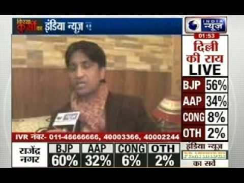 India News Exclusive Interview With Kumar Vishwas video
