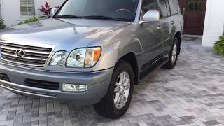 2004 Lexus LX 470 AWD Luxury SUV Review and Test Drive by Bill - Auto Europa Naples