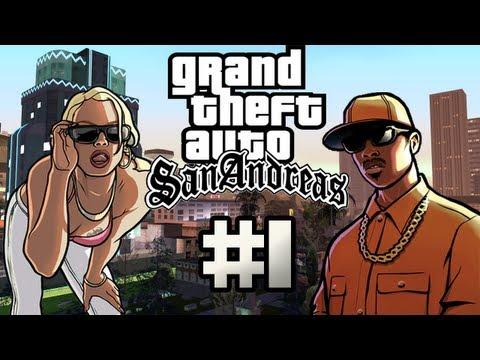 Pelataan GTA: San Andreas - Osa 1 - Tarina alkaa!