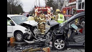 CAR ACCIDENT LUCKY MAN GOD GIFTED