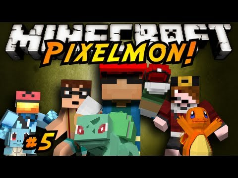 Minecraft: Pixelmon Episode 5!