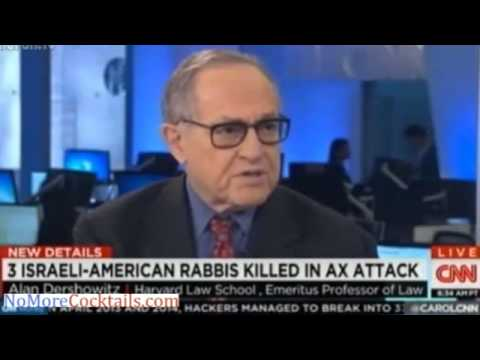 Alan Dershowitz: Synagogue ax attack in Israel
