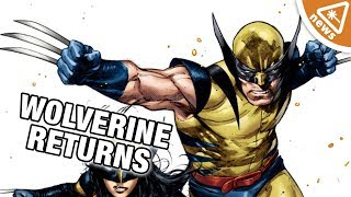 What Does Wolverine's Marvel Comics Return Mean for the MCU? (Nerdist News w/ Jessica Chobot)