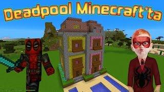 Deadpool ve Örümcek Çocuğun Minecraft Maceraları Yeni Bölüm Çocuklar için Çizgi Film