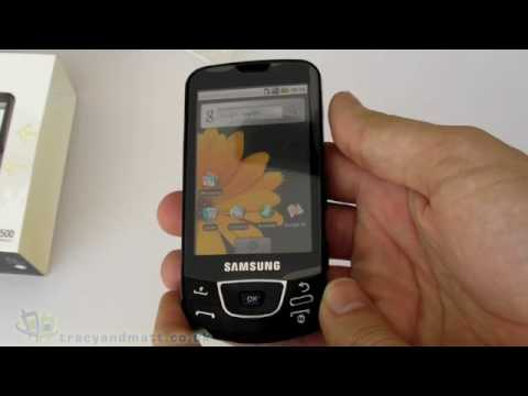 Samsung i7500 Galaxy unboxing video
