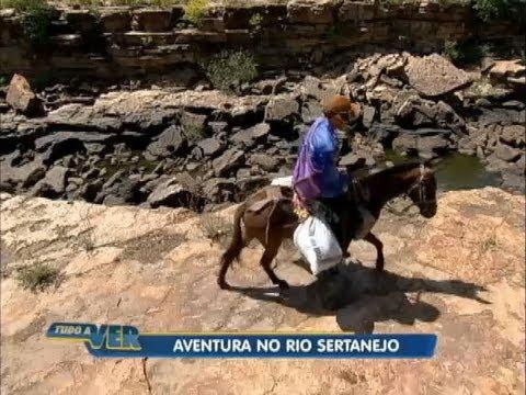 Tudo a Ver 21/08/2012: Reportagem encara aventura às margens do rio Poti, no Nordeste brasileiro