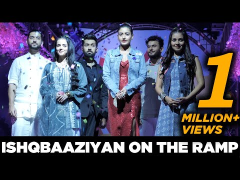 Ishqbaaaz Ramp walk with the Oberoi couples