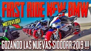 ME DEJAN LA NUEVA BMW S1000RR !!! 😱😱🔝🔝 FIRST RIDE DE LA MEJOR DEPORTIVA EN CIRCUITO !!!