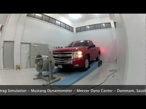 Drag Simulation: 2011 Chevrolet Silverado 1500 Z71 6.2 L Vortec L92 -
