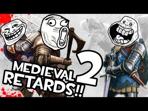 Trolls en Chivalry | TRES RETARDS EN LA EDAD MEDIA | w/ Mangel y Alexby11