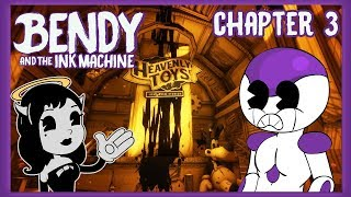 FRIEZA PLAYS BENDY AND THE INK MACHINE CHAPTER 3! MEET ALICE ANGEL!