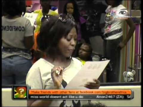 Big Brother Africa Amplified   Task - Take it Off!. thumbnail