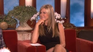 The Ellen Show - Jennifer Aniston on a 'Friends' Reunion