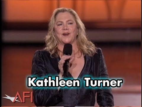 Kathleen Turner Salutes Michael Douglas