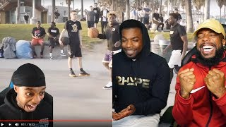 FLIGHT IS MY BIGGEST HATER!! 2vs2 Basketball Reaction ImDavisss & Duke Denis