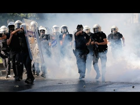 Turkish ANTI-Government PROTESTS: At least 2 KILLED 1,000 INJURED