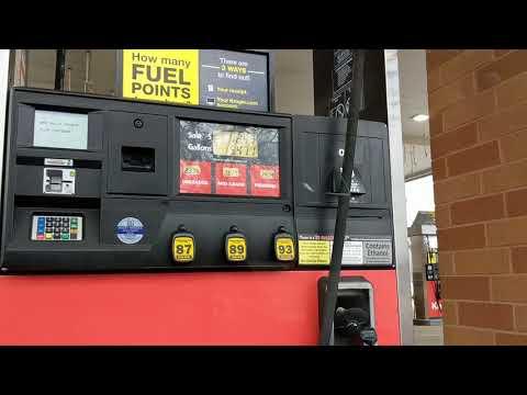 Бешенные цены на бензин Цинциннати штат Огайо США January 2018