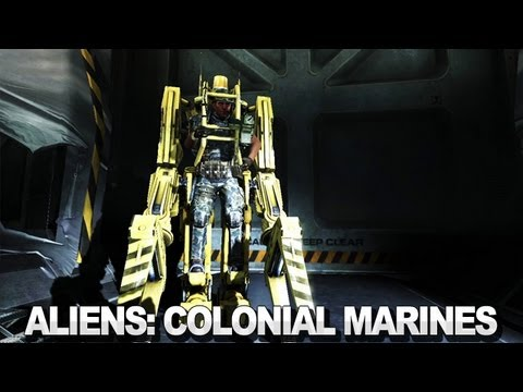 Aliens Colonial Marines Kick Ass Trailer