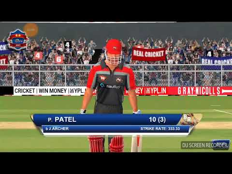 RCB VS RR FINAL REAL CRICKET18 GAME PLAY