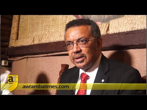 Interview With Dr. Tedros Adhanom Following His Victory As Director-General Of WHO