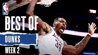 NBA's Best Dunks | Week 2 | 2019-20 NBA Season