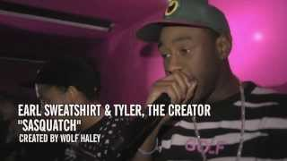 "Tyler, The Creator Video - Earl Sweatshirt & Tyler, the Creator - ""Sasquatch"" (YouTube Music Awards)"