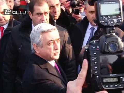 «Իյա՜, իրո՞ք». Սերժ Սարգսյան