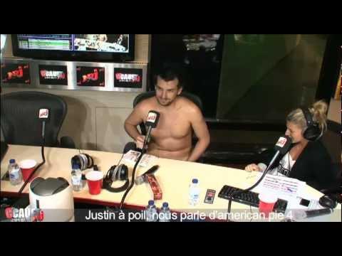 Justin À Poil, Nous Parle D'american Pie 4 - C'cauet Sur Nrj video