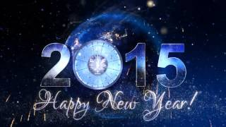 New Year Countdown Clock 2015 V3 After Effects template